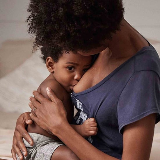 Gap Ad With Woman Breastfeeding
