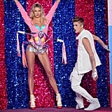 When Justin Bieber checked out our girl Jess Hart in 2012