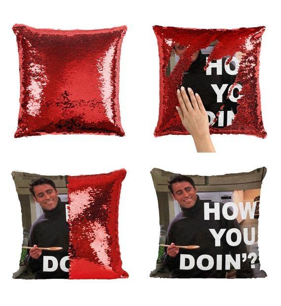 Friends TV Sequin Pillow
