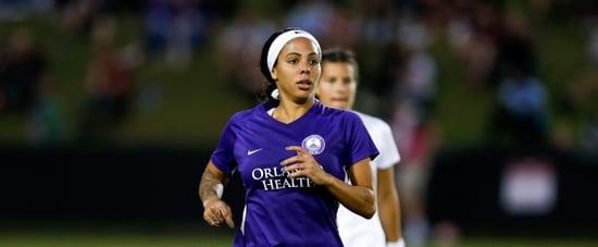 US Women's Soccer Player Sydney Leroux Pregnant at Practice
