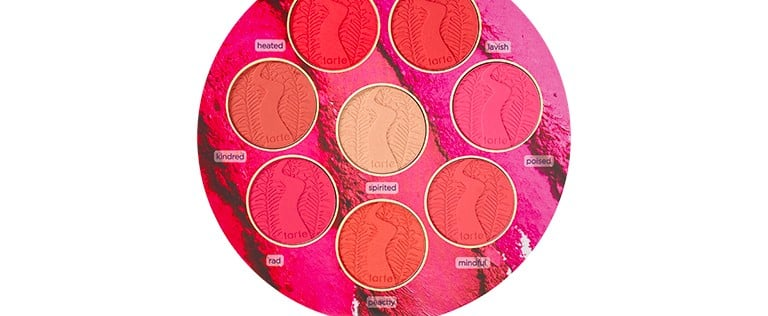 Exclusive First Look at Tarte's New Blush Book Starring 7 New Blushes + 1 Highlighter