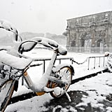 Rome Snow Photos