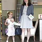 Jennifer Garner and Violet Affleck were all smiles as they spent the day together.