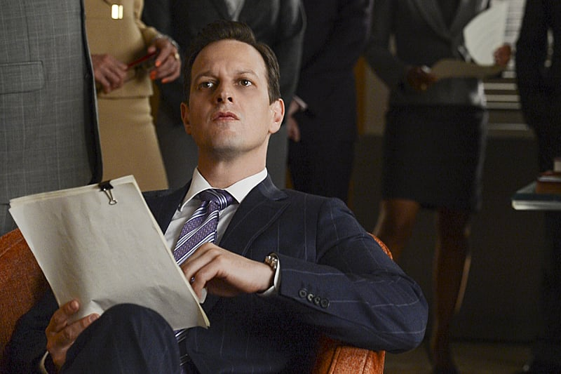 The Good Wife Josh Charles on the season premiere of The Good Wife, airing Sept. 29 on CBS.