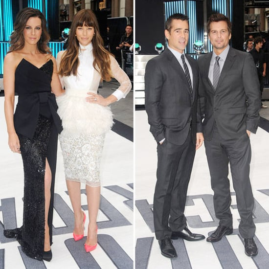 Jessica Biel and Kate Beckinsale Mix It Up For Their London Premiere