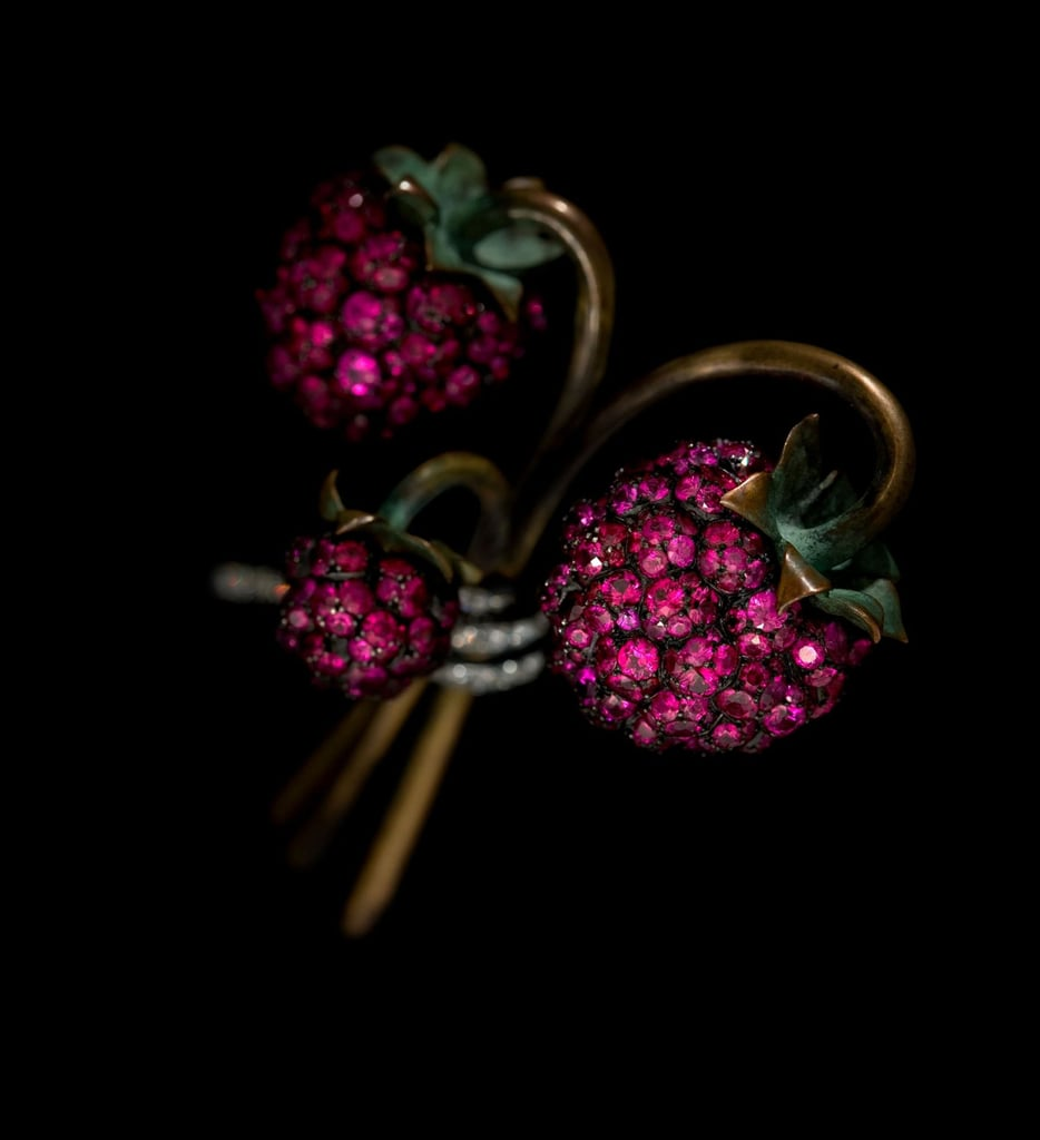 JAR Raspberry Brooch, 2011