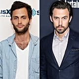 Penn Badgley and Milo Ventimiglia