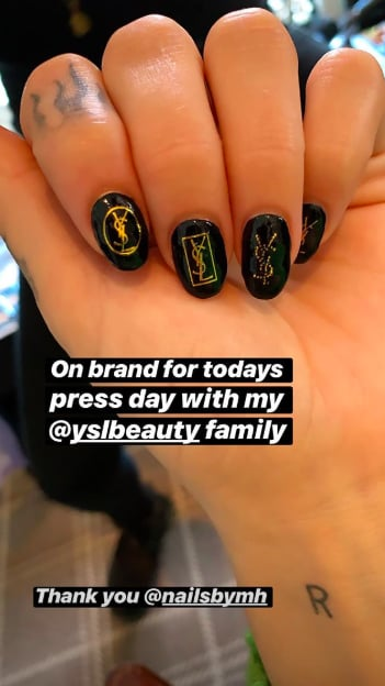 Dua Lipa's Nails Looks as Expensive as a Luxury Handbag