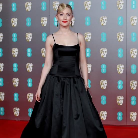 BAFTAs 2020: Saoirse Ronan's Sustainable Black Gucci Gown