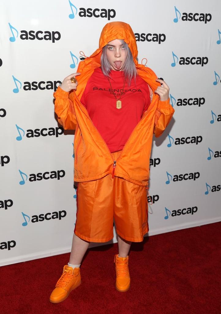 billie eilish's coolest style moments  popsugar fashion