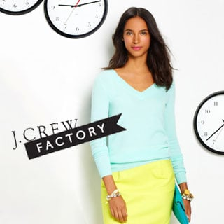 J.Crew Factory Relaunches Online
