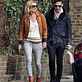 Kate Moss Is All Smiles on the Arm of Her Husband Jamie Hince