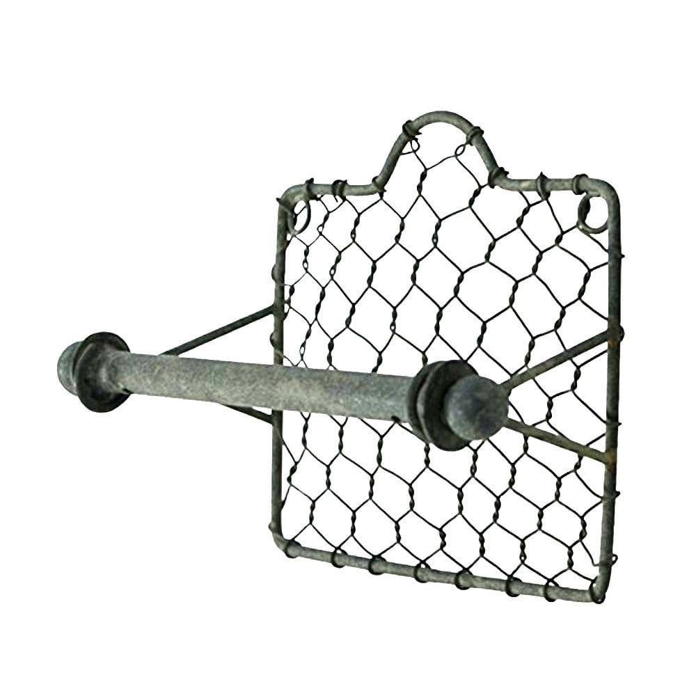 Chicken Wire Toilet Paper Holder ($11) | Modern Farmhouse Decor on ...