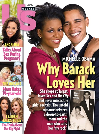 Michelle Obama On the View, Barack and Michelle Obama on Us Weekly Cover