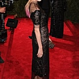 Diane Kruger Wearing Chanel at the Met Gala in 2013