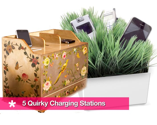 Strange Looking Charging Stations