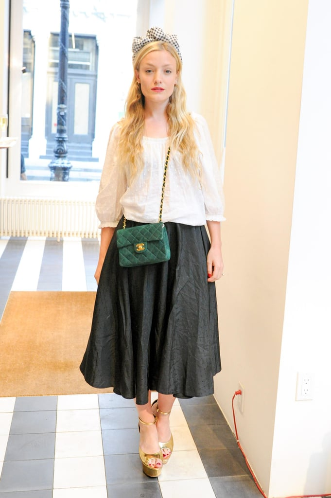 Kate Foley at Acne Studio's launch party for Bruce of Los Angeles Rodeo in New York.  Source: Neil Rasmus/BFAnyc.com