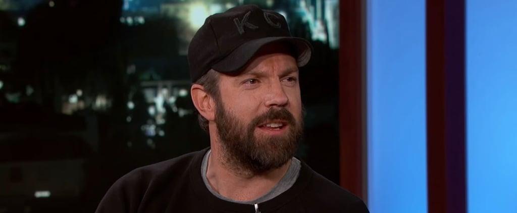 Jason Sudeikis Video of Son on Jimmy Kimmel February 2016