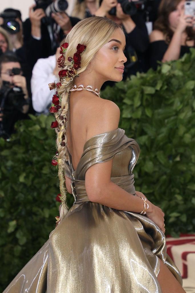 Jasmine Sanders Hair At The Met Gala 2018 Popsugar Beauty Photo 10