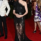 Rooney Mara went with an A-line Givenchy.