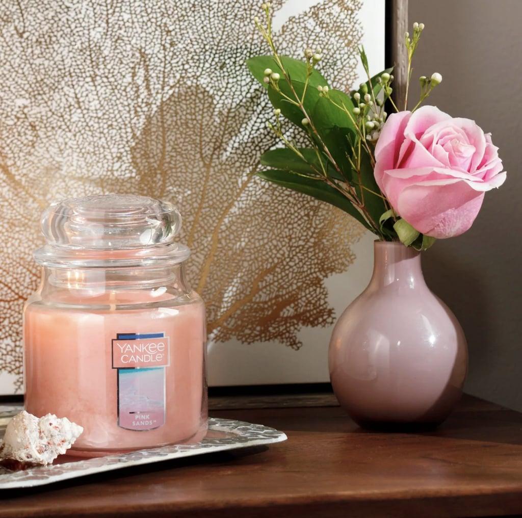 Pink Sands Glass Jar Pink Sands Candle