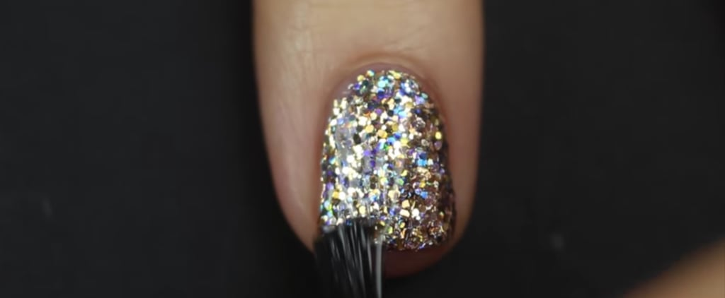 You've Been Applying Glitter Polish All Wrong