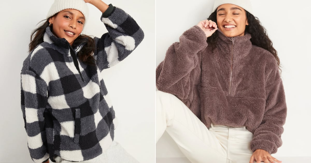 22 Old Navy Sherpas We Love (Since Leaving Home Wrapped in a Blanket Isn't an Option).jpg