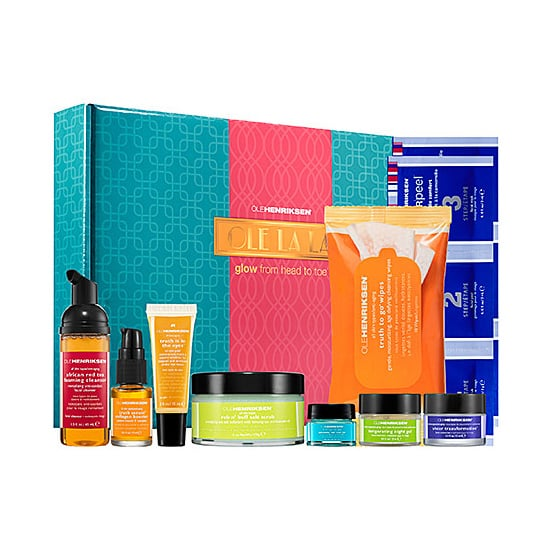 Whether you love at-home peels, makeup wipes, antiaging treatments, or salt scrubs, you'll find it in Ole Henriksen Ole La La Glow From Head to Toe Blockbuster Set ($59).