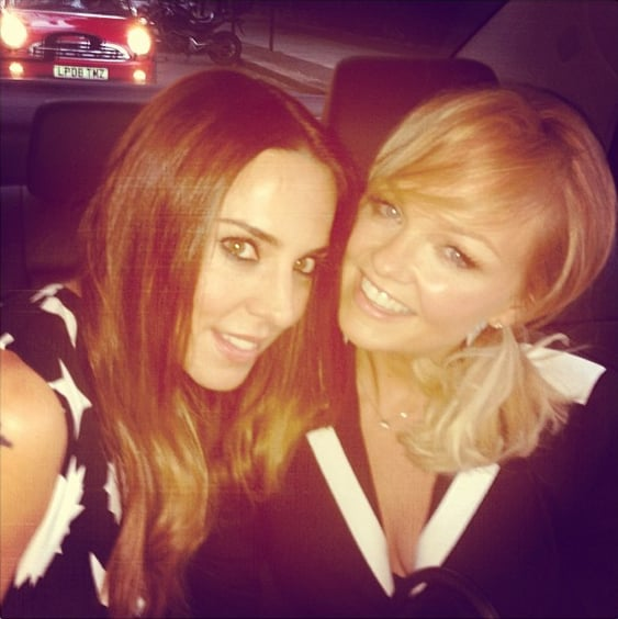 Mel C and Emma snapped a selfie in the car. Source: Instagram user melaniecmusic