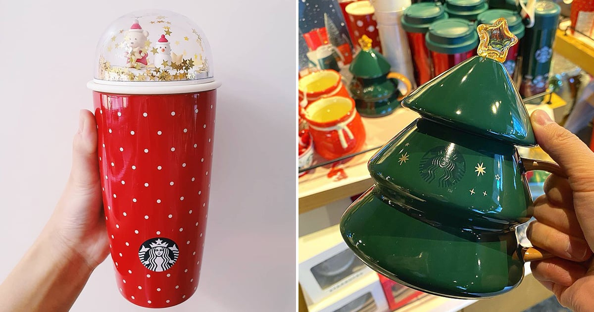 Starbucks Korea's Holiday Collection Is Truly Next Level — Look at That Snow-Globe Tumbler!