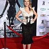 Scarlett Johansson at the LA Premiere of Captain America: The Winter Soldier