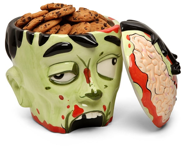 . . . And a Zombie Head Bowl