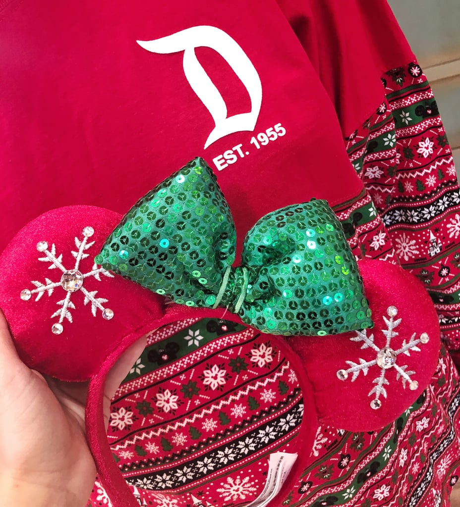 Red and Green With Crystal Snowflakes