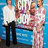 Emma Watson and Thandie Newton