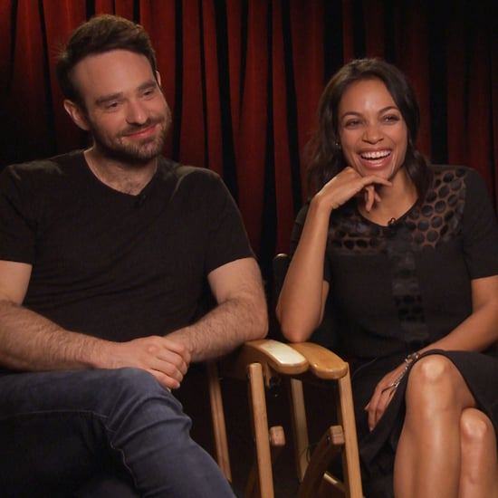 Charlie Cox and Rosario Dawson Daredevil Interview (Video)