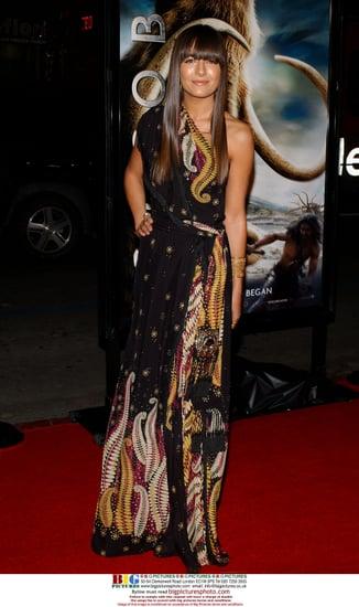 Camilla Belle at 10,000 BC Premiere