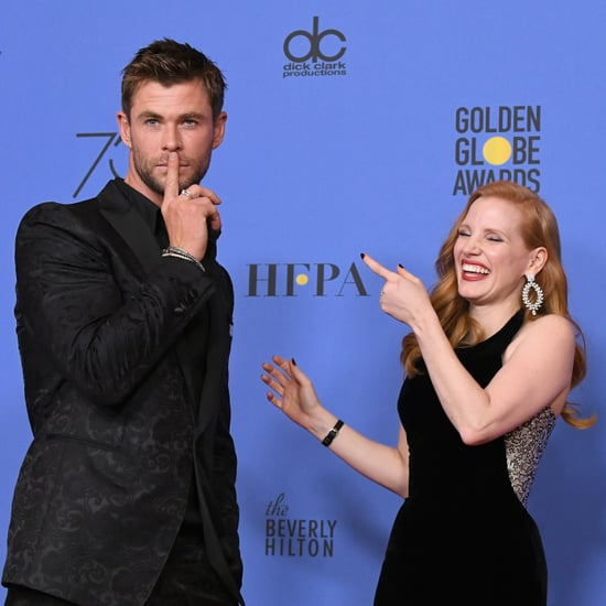 Best Candid Pictures From the 2018 Golden Globes