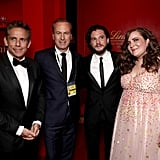Ben Stiller, Bob Odenkirk, Kit Harington, and Aidy Bryant at the 2018 Emmy Awards