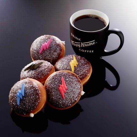 Krispy Kreme Power Rangers Doughnuts