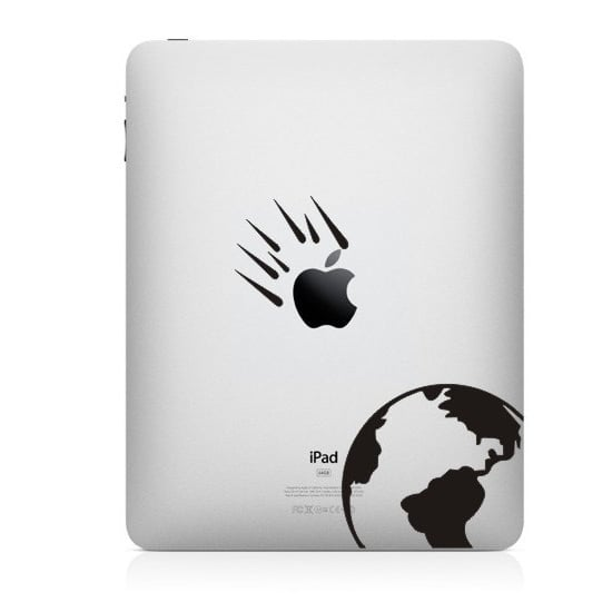 It's safe to call this comet iPad mini decal ($7) out of this world.