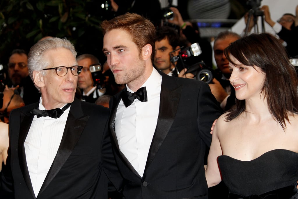 Robert Pattinson Looks Dashing For His Cosmopolis Premiere