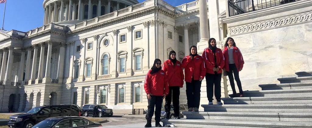 منتخب سيّدات الإمارات لهوكي الجليد يزور الولايات المتّحدة ويثبت أنّ الهوكي رياضة للجميع بكل معنى الكلمة حقّاً