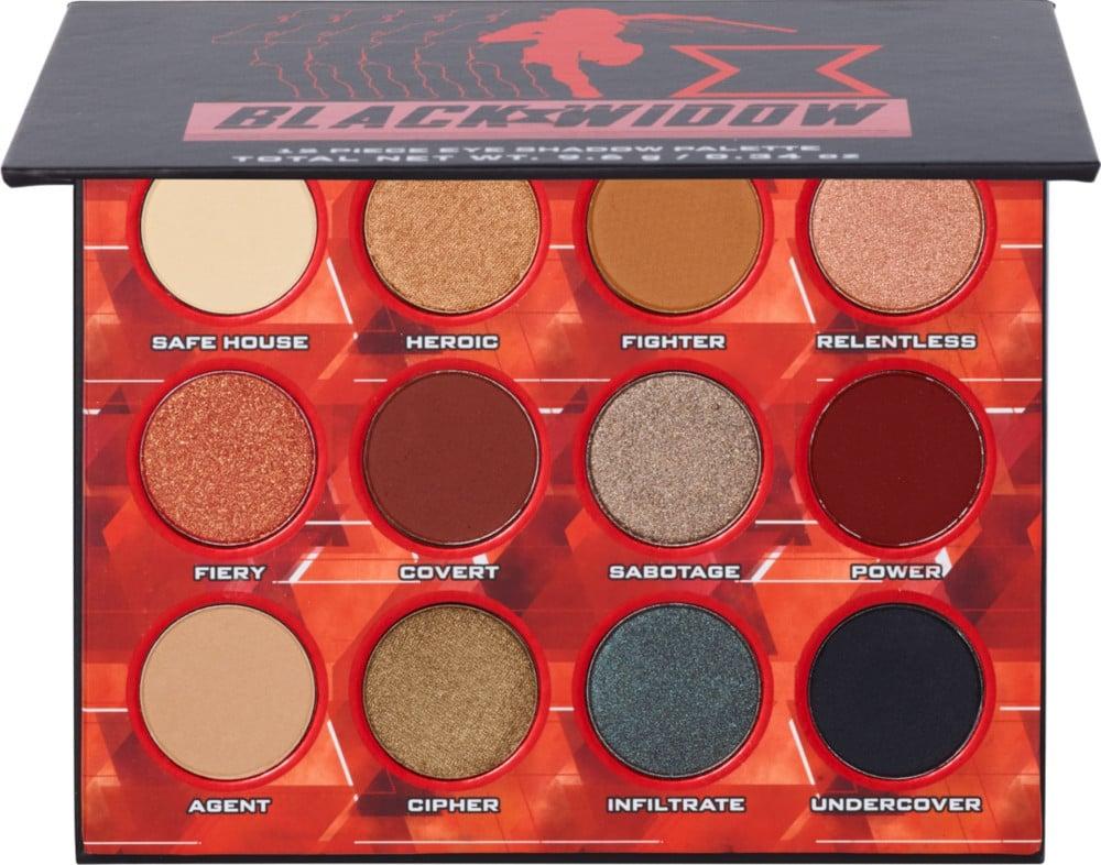 Ulta Beauty Collection x Marvel's Black Widow Eye Shadow Palette