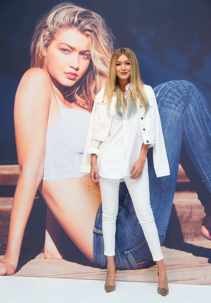 This Is the High-Fashion Way to Wear White Jeans
