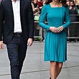 Kate Middleton's Emilia Wickstead Dress November 2018