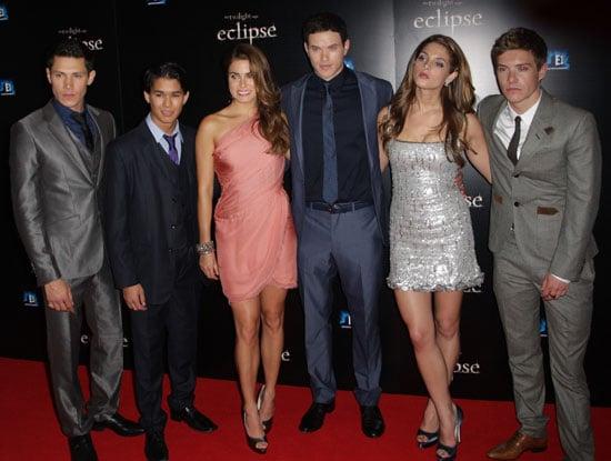 Eclipse London Premiere Including Ashley Greene, Nikki Reed, Kellan Lutz, Alex Meraz, Xavier Samuel, Booboo Stewart