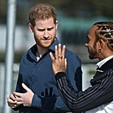 Prince Harry and Lewis Hamilton Open Silverstone Experience