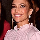 Jennifer Lopez's Pink Feather Dress