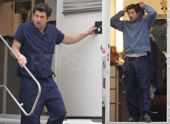 Photos of Ellen and Patrick on Grey's