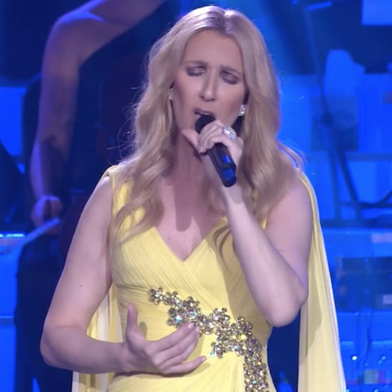"Celine Dion Sings ""How Does a Moment Last Forever"" in Vegas"